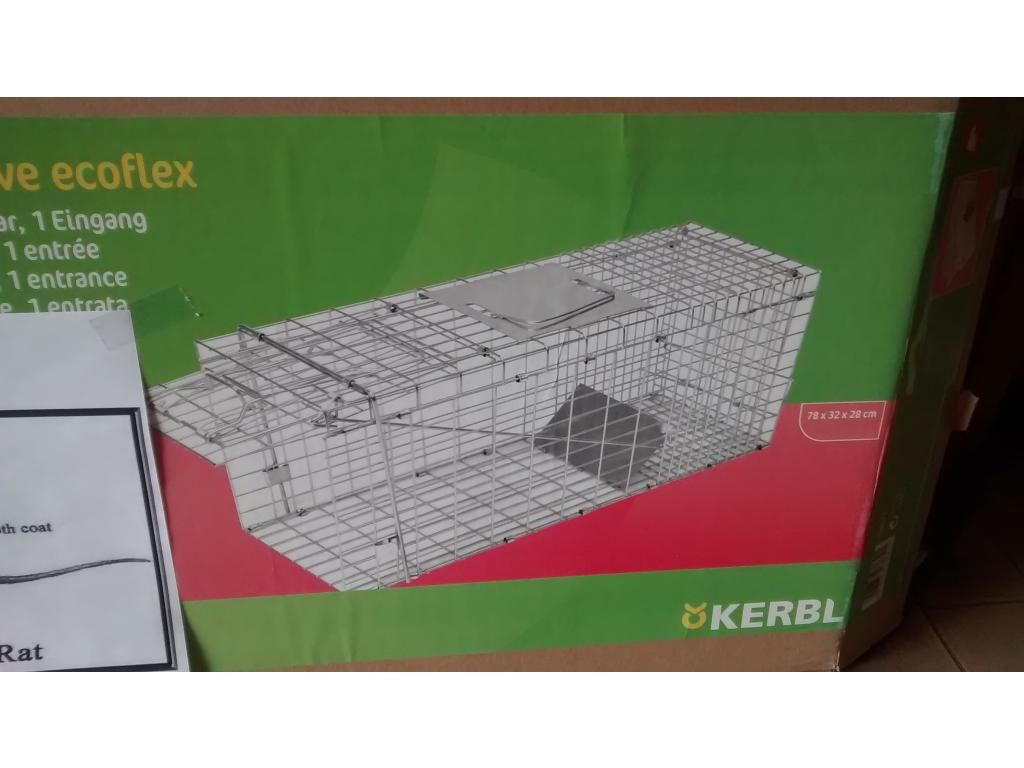 Trappola cattura nutrie topi volpi furetti for Trappola piccioni